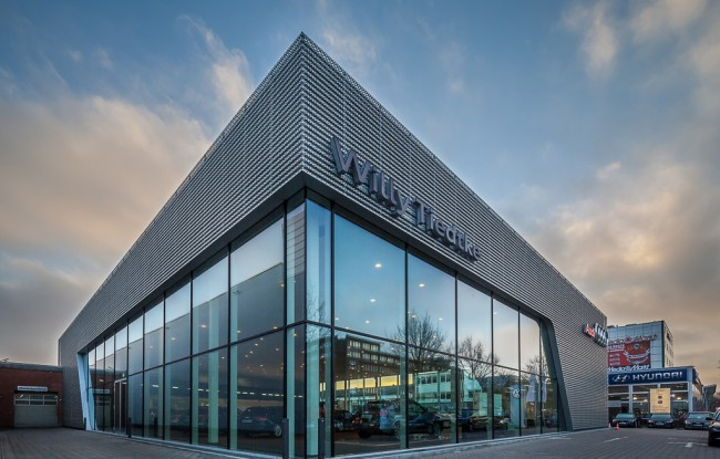 Architekturfotografie Autohaus Hamburg