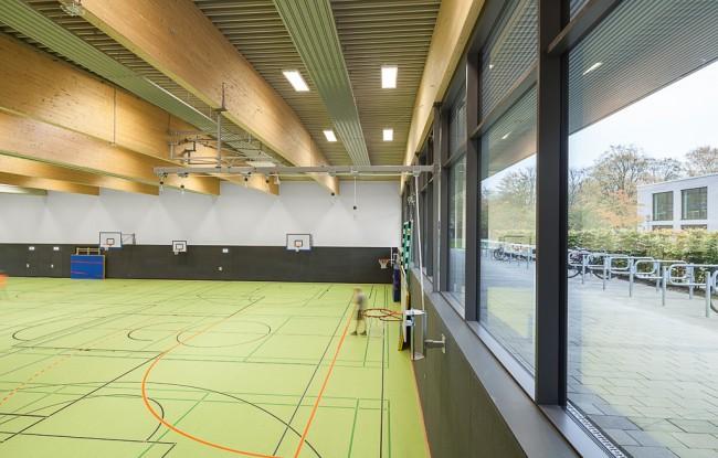 Architekturfotos Sporthalle Kiel